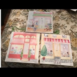 Pottery Barn Kids Maria Carluccio French art trio
